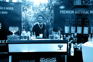 Picture gallery of an event for Fever Tree Portugal