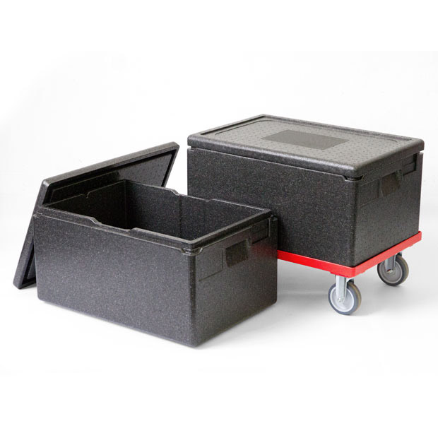 Ice cube boxes for catering, cocktails like whiskey sour, whisky on the rocks, also stores crushed ice
