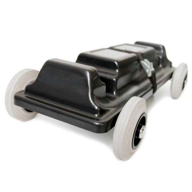 Perspective view of the Justincase single skater