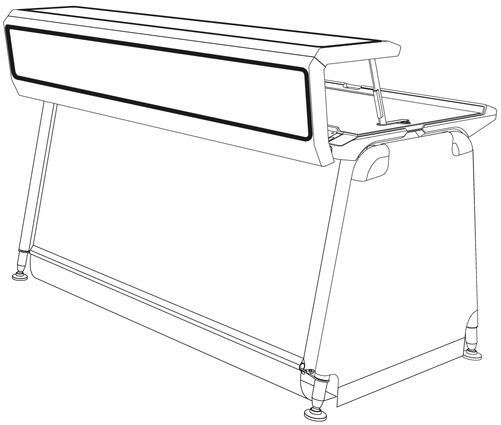 JUSTINCASE mobile bar system illustration